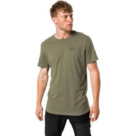 Jack Wolfskin Essential T-Shirt Heren, khaki